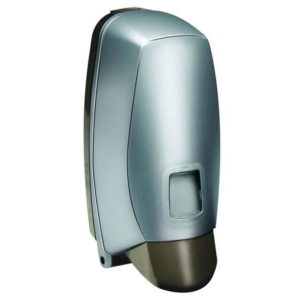 Dispenser-sapone-a-muro-argento