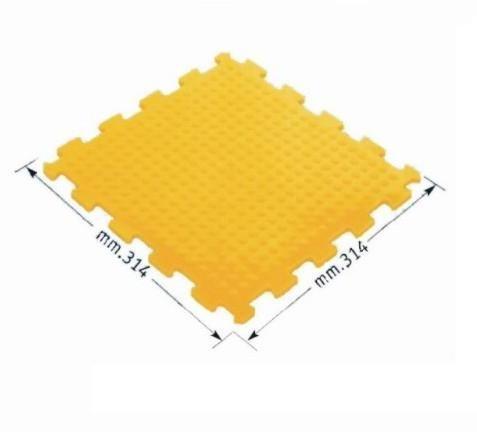 Pavimento ad incastro puzzle in PVC