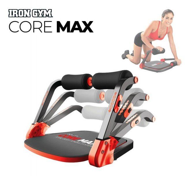 Sistema allenamento addominali total body workout Core Max   Iron Gym