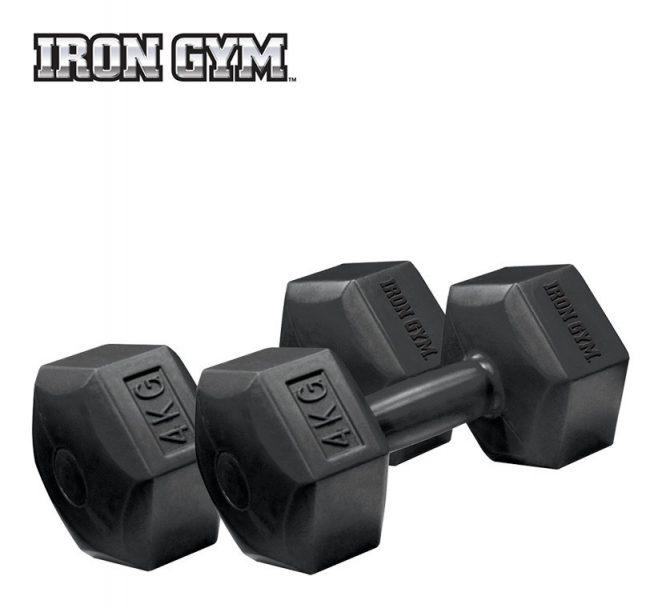 Coppia manubri 4kg x 2 | Iron Gym®