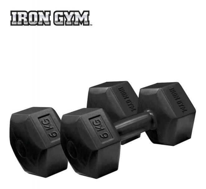Coppia manubri 6kg x 2 | Iron Gym®