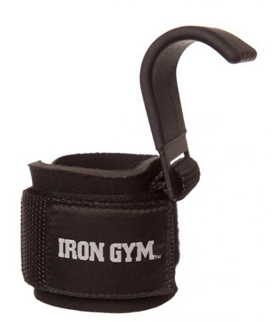 Polsiere Sollevamento Pesi Con Gancio Acciaio   Iron Gym®