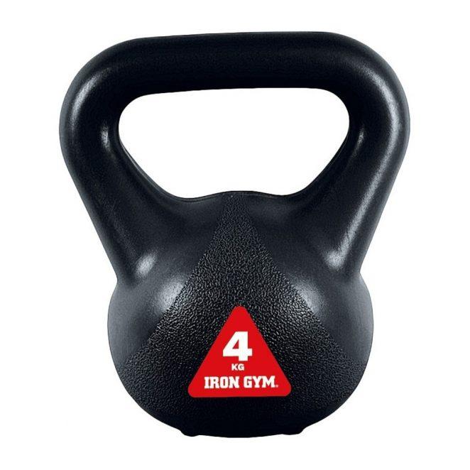 KETTLEBELL da 4kg.   Iron Gym®