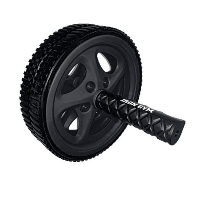 Doppia Ruota per addominali Dual Ab Wheel Iron Gym®